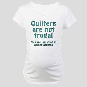 cut corner T Maternity T-Shirt