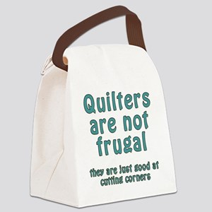cut corner T Canvas Lunch Bag