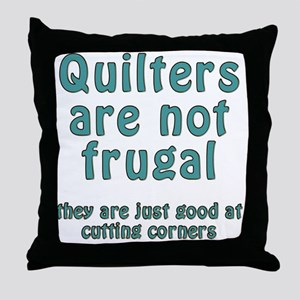 cut corner T Throw Pillow