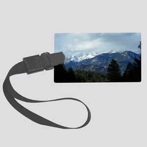 The Rockies Large Luggage Tag
