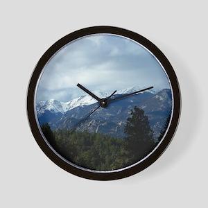 The Rockies Wall Clock