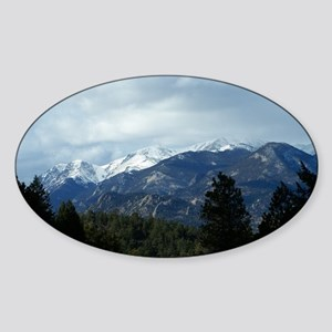 The Rockies Sticker (Oval)