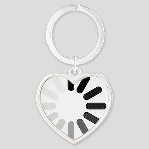 pw_dark_thin_1100 Heart Keychain