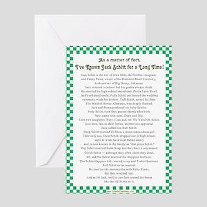 JackSchitt Greeting Card