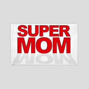 SUPER MOM 3'x5' Area Rug