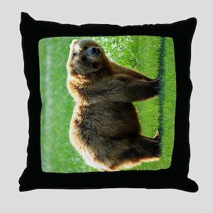 TabletSleeve_bear_2 Throw Pillow