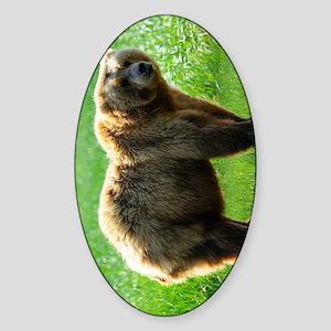 TabletSleeve_bear_2 Sticker (Oval)