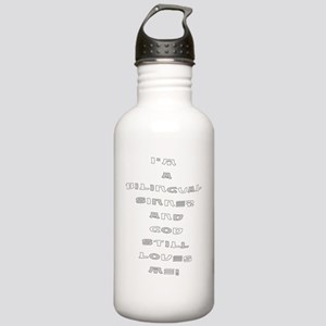 bilingual sinner Stainless Water Bottle 1.0L