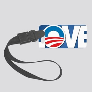 LOVE with Obama Logo Small Luggage Tag