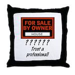 fsbo Throw Pillow