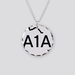 A1AMAP2 Necklace Circle Charm