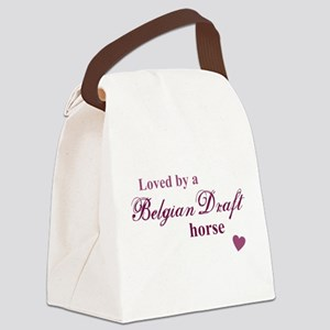 Belgian Draft horse Canvas Lunch Bag