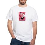 Flamingo White T-Shirt