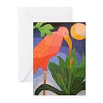 Pink Ibis Greeting Cards (Pk of 10)