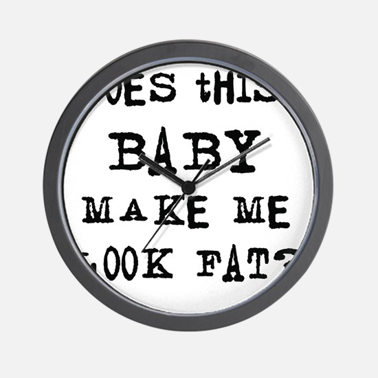 Does this baby... Wall Clock