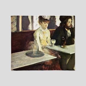 Edgar Degas AbsintheSC Throw Blanket