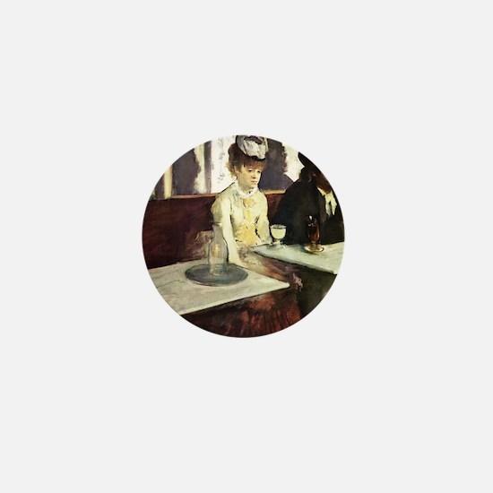 Edgar Degas AbsintheSC Mini Button