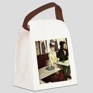 Edgar Degas AbsintheSC Canvas Lunch Bag