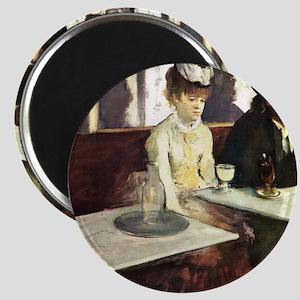 Edgar Degas AbsintheSC Magnet