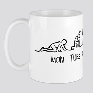 week evolution_black Mug