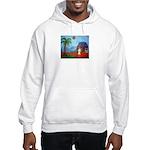 """""""Island Hut"""" Hooded Sweatshirt"""