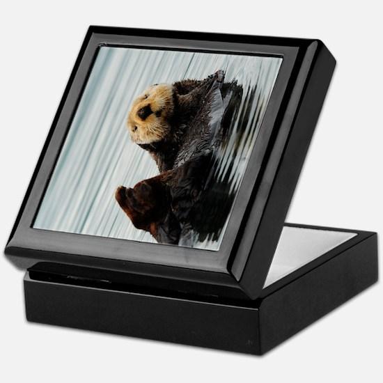 TabletSleeve_seaotter_2 Keepsake Box