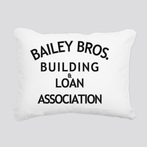 Its a Wonderful Building Rectangular Canvas Pillow