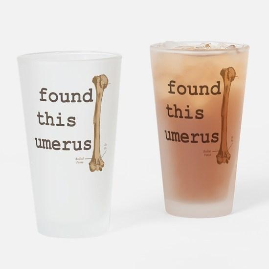 Humerus Drinking Glass