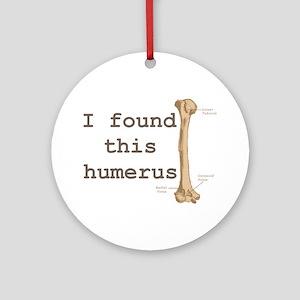 Humerus Round Ornament