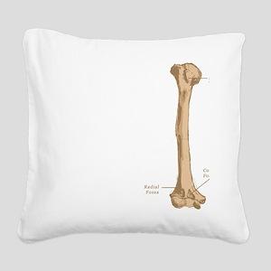 Humerus Square Canvas Pillow