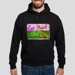 eat_drink_sleep_3 Hoodie