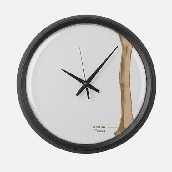 Humerus Large Wall Clock