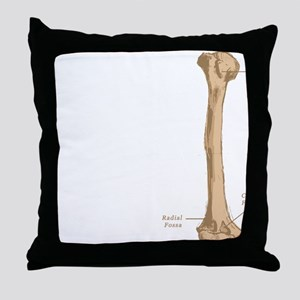 Humerus Throw Pillow
