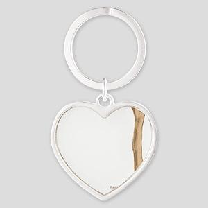 Humerus Heart Keychain