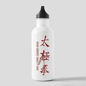 ttcverticalreedSide Stainless Water Bottle 1.0L