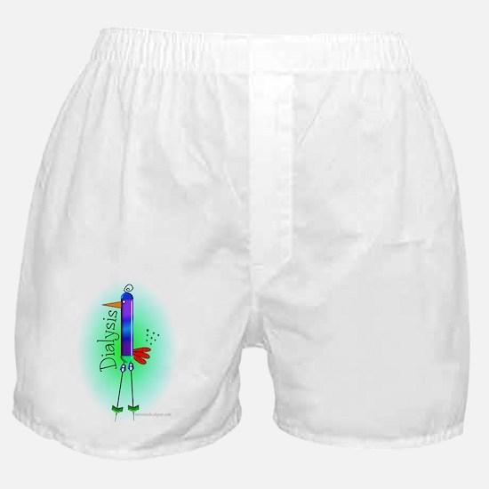 Dialysis Brid Blue Boxer Shorts