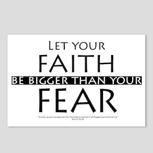 Faith  Fear Postcards (Package of 8)
