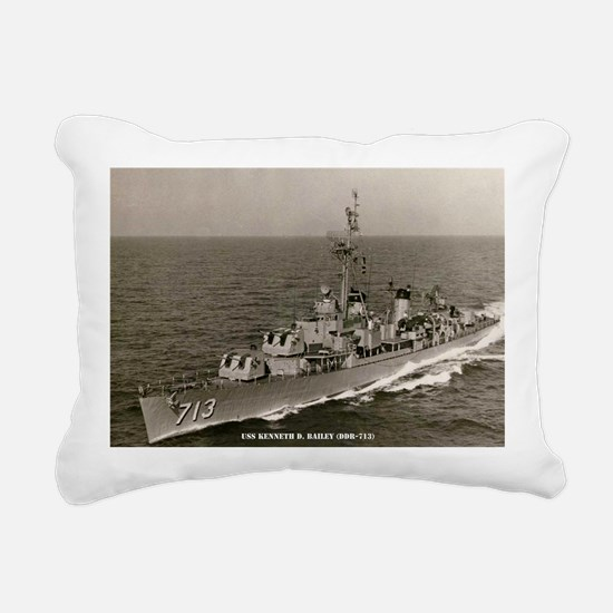 kdbailey ddr large frame Rectangular Canvas Pillow