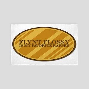 Flynt Flossy is my favorite rapper 3'x5' Area Rug