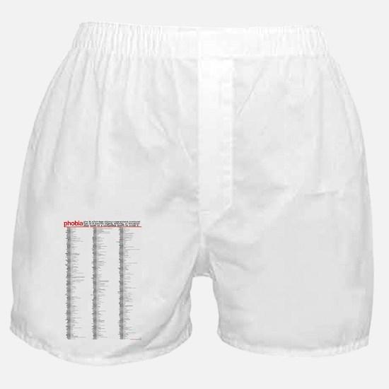 PHOBIAS Boxer Shorts