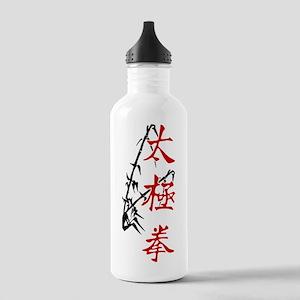 ttcverticalbambooSide Stainless Water Bottle 1.0L
