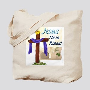 Jesus He is Risen! Tote Bag