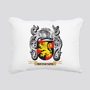 Matheson Coat of Arms - Rectangular Canvas Pillow