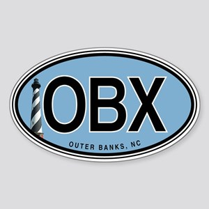 Outer Banks Euro Oval Sticker