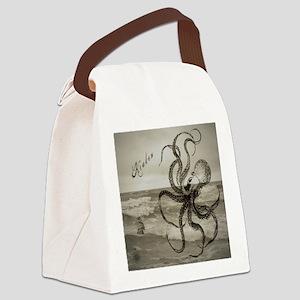 The Kraken Canvas Lunch Bag