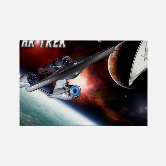 Star Trek NEW Rectangle Magnet