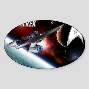 Star Trek NEW Sticker (Oval)