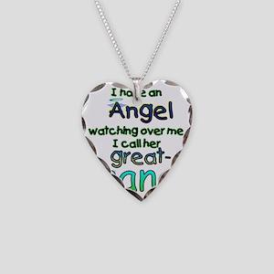 ANGEL GREAT NANA Necklace Heart Charm