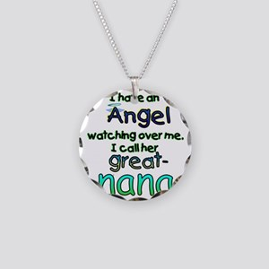 ANGEL GREAT NANA Necklace Circle Charm