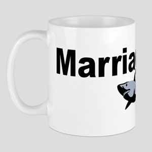 Marriage Equals Mega Shark Plus Giant O Mug